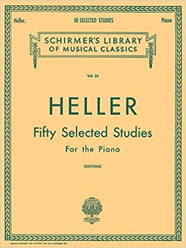 Heller Fifty Selected Studies for the Pianoのイメージ